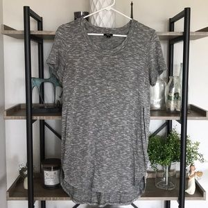 Mossimo • Gray High Low T-shirt • S
